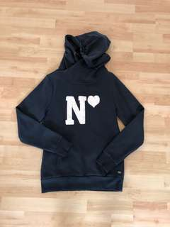 Esprit navy blue hoodies