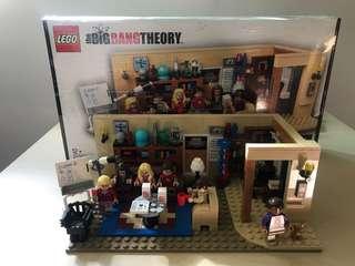 Lego Big Bang Theory 21302 已砌