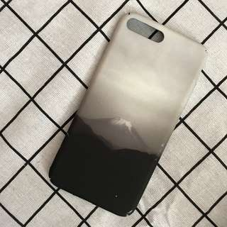 iPhone 7+ / 8+ Phone Case 黑白富士山手機殻