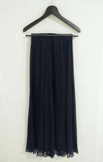 Dark Blue Long Skirt