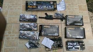 Assorted Small Gun display