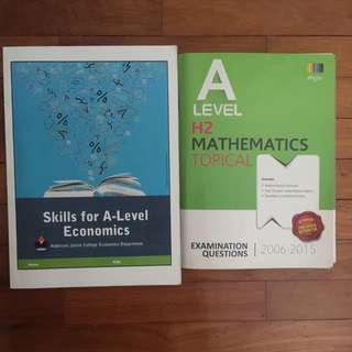 (FREE) Economics Skills, H2 Math Topical TYS, GP Magazines