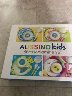 Aussino kids-5 PCs melamine set