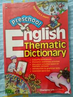 English Thematic Dictionary