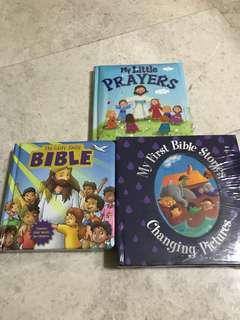 Christian books for kidsx3