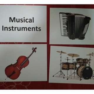 Musical Instruments - BN Flashcards