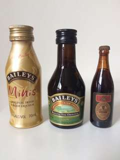 Bailey's Guinness Stout Miniature