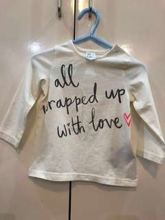 Branded Baby Tops H&M, Marks & Spencer x Gingersnaps x Baby Gap x Old Navy x Carters x Zara Baby