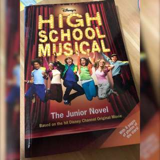 HIGH SCHOOL MUSICAL THE JUNIOR NOVEL