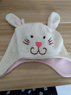 Clearance! Preloved Girl Winter Bunny Hat