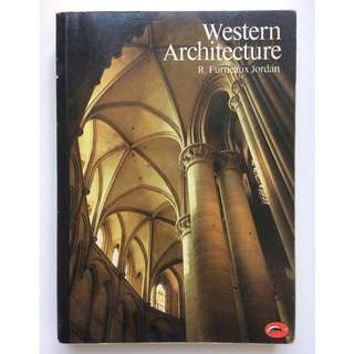 Art and Architecture book - Western Architecture by Furneaux Jordan