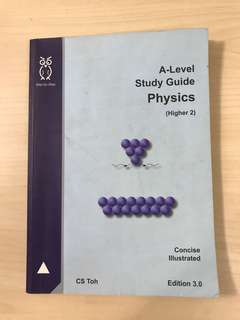 (CS TOH) A LEVEL STUDY GUIDE PHYSICS