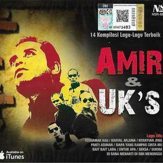 AMIR And UK's 14 Kompilasi Lagu-Lagu Terbaik CD