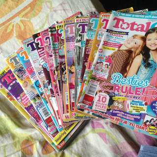 Total Girl Magazines Bundle Collection
