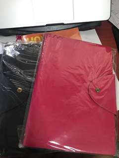 Pink note book Leather cover