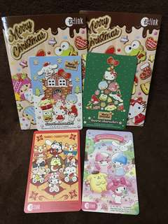 Sanrio ezlink card set of 4