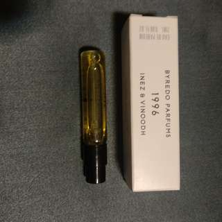 Byredo 1996 Sample