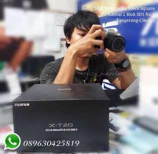 Fujifilm X-T20 Bisa Kredit bunga 0,9% Proses 30mnt cair