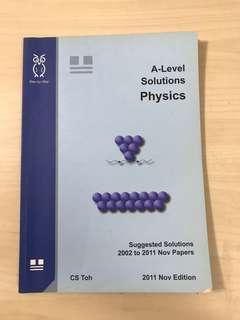 (CS TOH) A LEVEL SOLUTIONS PHYSICS