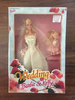 Wedding Barbie & Kelly