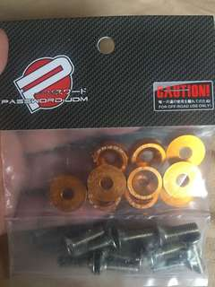 Fender washer / JDM Style (Gold)