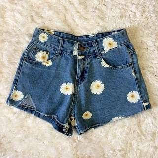 Sunflower Midwaist Shorts
