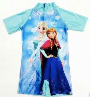 Frozen swimming suit