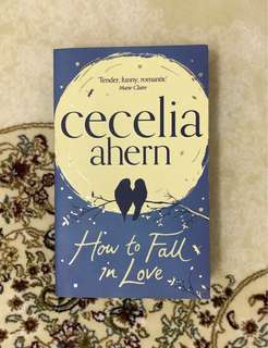 How to Fall in Love by cecelia ahern - English Novel