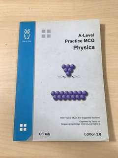 (CS TOH) A LEVEL PRACTICE MCQ PHYSICS
