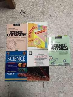 Science  Chemistry for O Level. Each book for $5.00