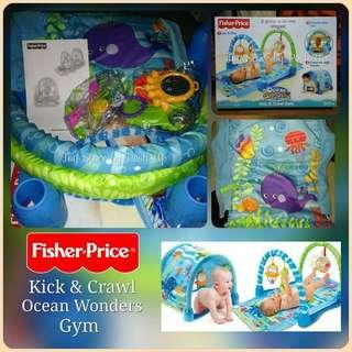 Fisher Price Kick & Crawl Ocean Wonders Playgym*