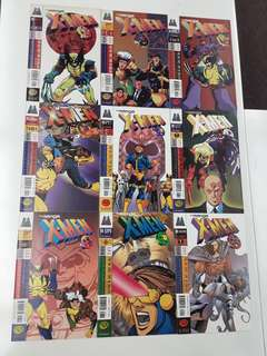 X-Men The Manga (1998) Complete Comics Set