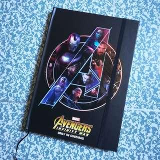 Avengers Infinity War Exclusive Notebook