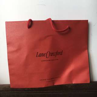 LANE CRAWFORD PAPER BAG
