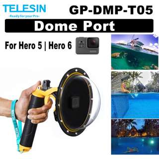 Gopro Hero 5 6 Waterproof Clear Acrylic Dome Port Dome Port Diving Underwater Photography