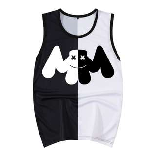 Marshmello Tank / Singlet Shirts ( D1 )