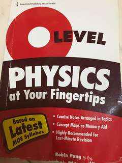 O level Physics EPH Guidebook