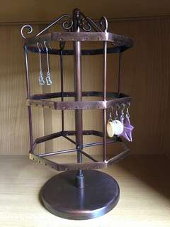 Earring display stand (rotating)