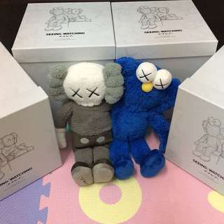 """KAWS seeing/watching limited edition 16""""plush"""