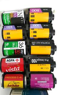 Expired 135 Film Various Brand Various Speed