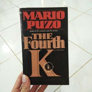 "MARIO PUZO ""THE FOURTH K"""