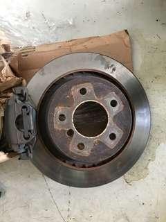 Bmw e36 m3 rear brake kit
