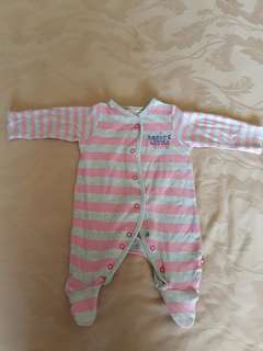 Mothercare sleepsuit Newborn