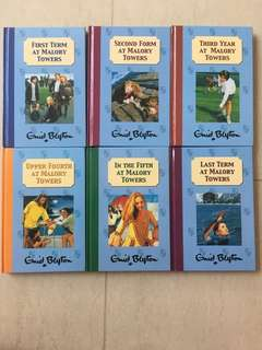 Enid Blyton - Malory Towers - Hardcover set of 6 books