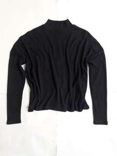 H&M Black Ribbed Top