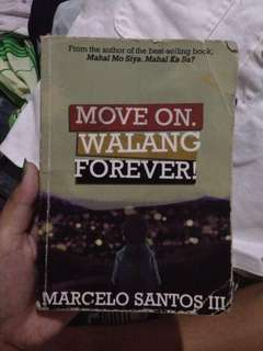 REPRICED! Move on walang forever/book