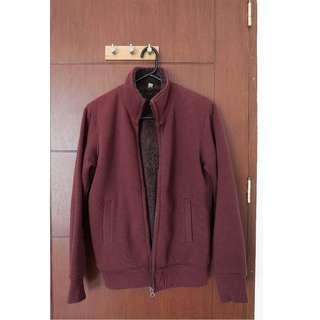 UNIQLO Men's Faux Fur Jacket
