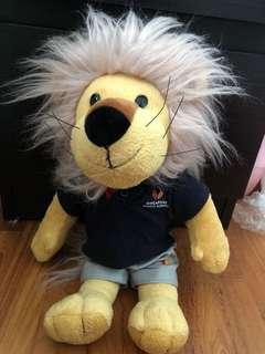 Singapore Sports School Lion Mascot