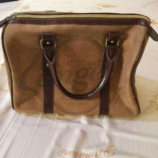 Pretty Animal Print Brown Handbag