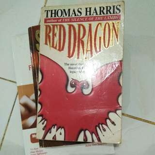 "THOMAS HARRIS ""RED DRAGON"""